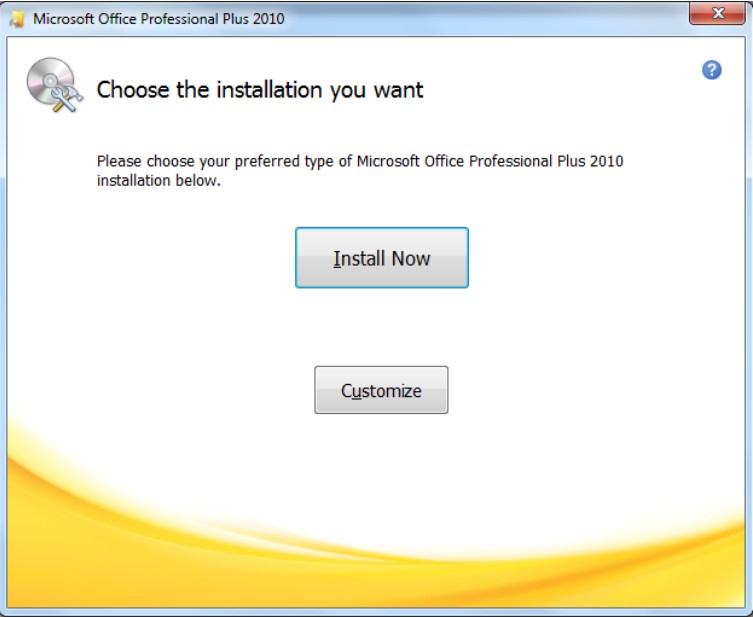 step 5 everything is complete and you are now able to access microsoft office