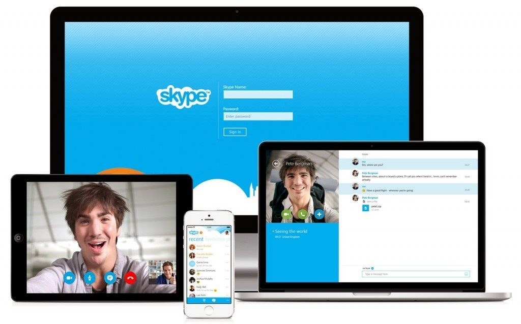 Skype download and install - free IM & video calls apps