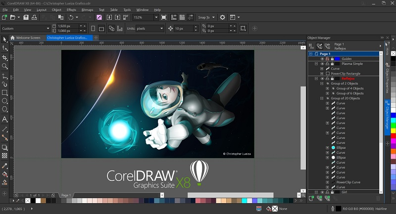Download and Install Corel DRAW Graphics Suite X8 free - TECHFEONE