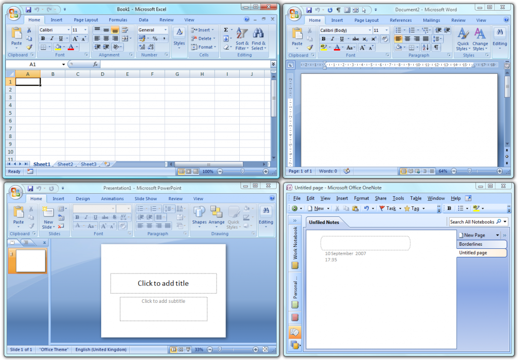 ms office onenote 2007 free download
