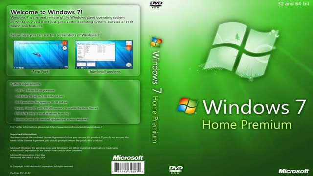 Windows 7 Premium 32 64bit Full Version Iso File Free Download